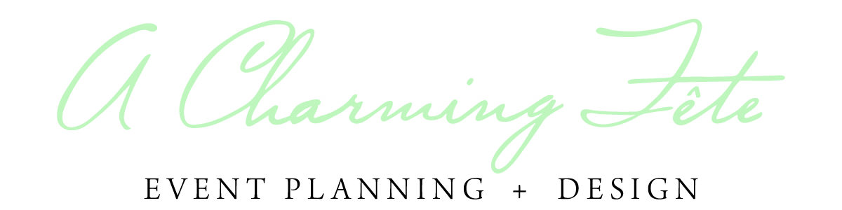 A Charming Fete, Cleveland Wedding & Event Planner, Destination Wedding Planner